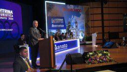 Presidente de Colombia Iván Duque en Vitrina Turística Anato 2020 (archivo)