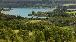 Capacitación Biobío: el Lago Lanalhue es considerado el primero de la ruta de los Lagos del sur de Chile.