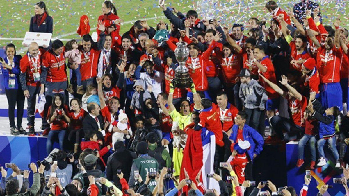 Copa América en Brasil. A pesar de que Chile era candidato, esta será la nueva sede según la Conmebol.