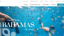 Bahamas.com está 100% en español.