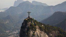 El Cristo Redentor, de Rio de Janeiro, una de las imágenes más típicas de Brasil.
