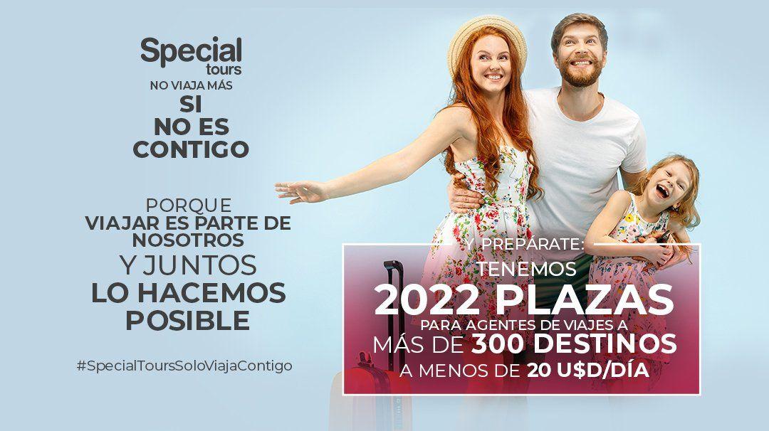 """""""Special Tours no viaja más si no es contigo""""."""
