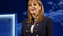 Gloria Guevara Manzo, presidenta y CEO de WTTC, en el Congreso de Cotelco.