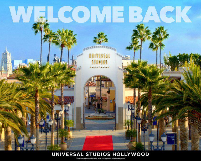 Vuelven los atractivos de Universal Studios Hollywood.