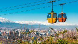 El Cerro San Cristóbal (Parquemet), está abierto al público en Santiago.