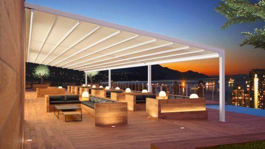 Saxun aporta a la decoración y la maximización de los espacios exteriores del hotel.