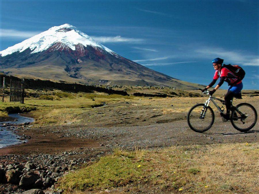 Las rutas ciclísticas se potencian en Quito.