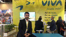 Juan Diego Zapata, Director Comercial de Viva, estuvo presente en Anato 2021