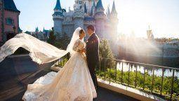 Disney permite celebrar casamientos con su toque mágico.