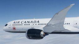 Un Boeing B-787 de Air Canada.