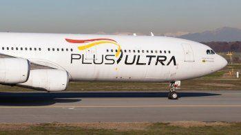 Plus Ultra se defiende de polémica por vuelos a Venezuela