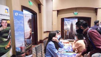 Turismo emisivo se reactiva con evento presencial