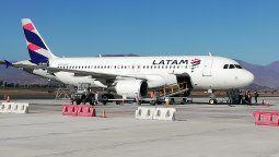 Latam reanudará dos vuelos hacia la Región de Magallanes.
