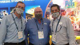 Eric Marshall, Dennis Quinn y Marcos Barros, con todas las novedades de Universal Orlando Resort.