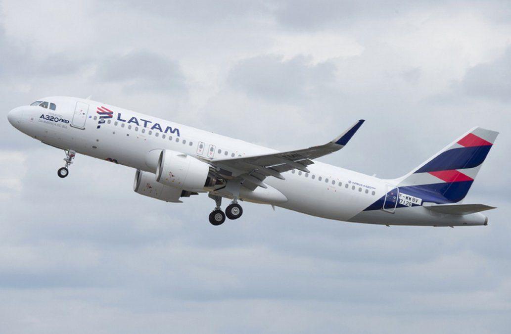 El Airbus A320NEO es columna vertebral de las rutas cortas y medias de Latam Airlines.