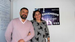 Augusto Moreno Aguirre, gerente de servicios; Paulina Freire, gerenta comercial Quito; ambos de M&M Group.