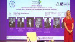 Las Cámaras de Turismo nucleadas en Fedesud pidieron mayor eficacia en la ayuda al sector.