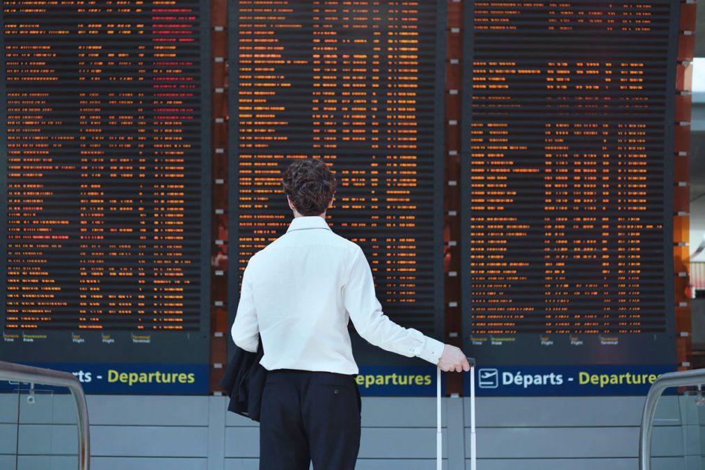 Las grandes aerolíneas estadounidenses redujeron significativamente su capacidad.