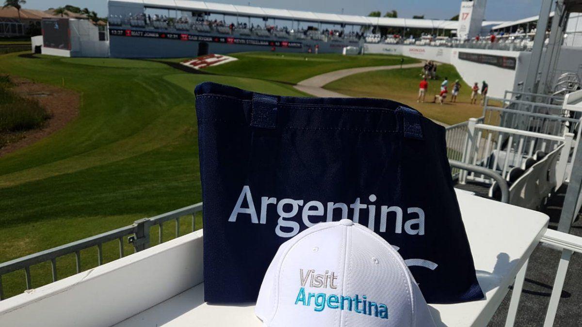 Argentina contó con un destacado espacio de promoción durante el prestigioso torneo Honda Classic