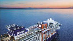 Así es el Celebrity Beyond, el nuevo barco de cruceros de Celebrity Cruises.