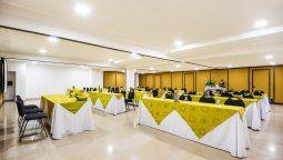 En los salones del Andes Plaza Bogotá, EM Hotels cuenta con capacidad para 200 personas.