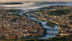 Praga, capital de República Checa, es una de las ciudades más bellas de Europa.