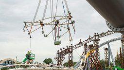 TRON Lightcycle/Run se construye en Walt Disney World Resort en Florida.