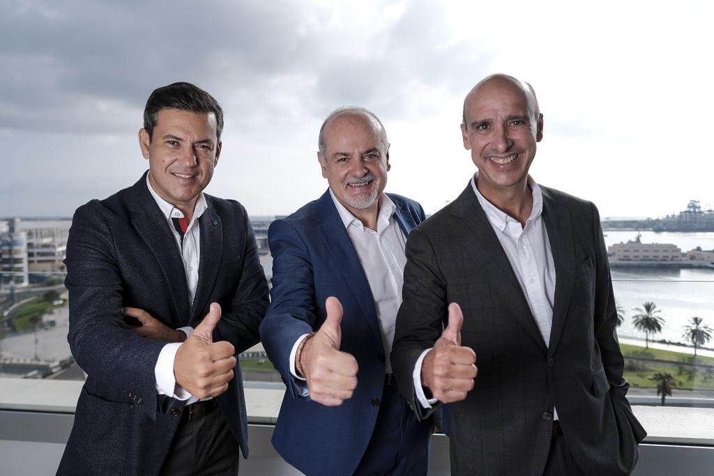 Los ejecutivos al frente de Canarian Hospitality vislumbran ambiciosos planes hoteleros.
