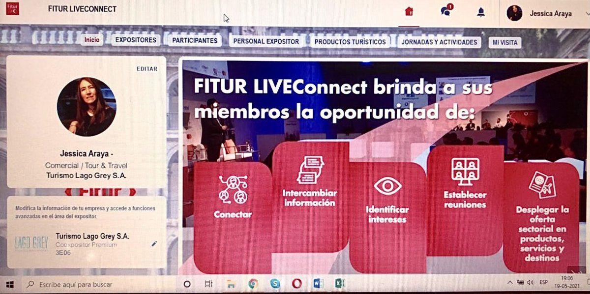 Chile participó en el LIVEConnet de Fitur.