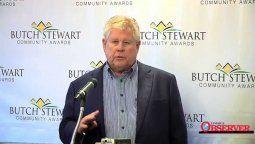 Gordon Butch Steward, fundador y chairman de Sandals Resorts.