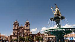 El Centro Histórico de Cusco.