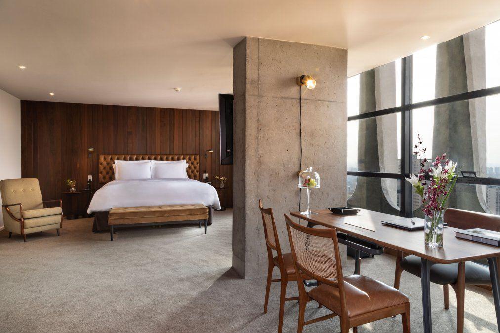 Hoteles: la suite más grande de América Latina cuenta con cocina