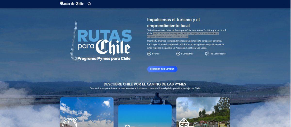 Rutas para Chile cuenta con más de 100 emprendimientos turísticos.
