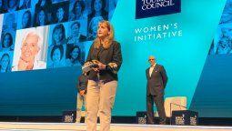 Gloria Guevara Manzo, presidenta y CEO de WTTC, durante la clausura de la Cumbre Mundial, en Cancún, Quintana Roo.