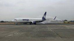 Wingo retomó sus operaciones en la ruta Bogotá - Guayaquil- Bogotá.
