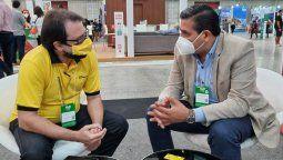 Ricardo Sosa y la delegación de Argentina viajaron a Brasil con el objetivo de potenciar el desarrollo aerocomercial del país.