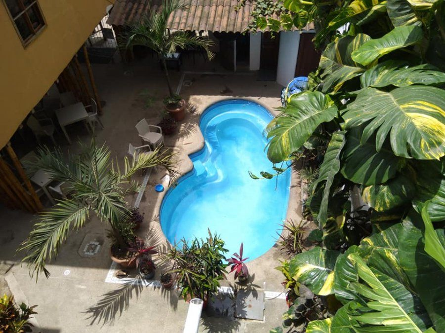 Piscina del Hotel Piedra del Mar ubicado en Puerto López.