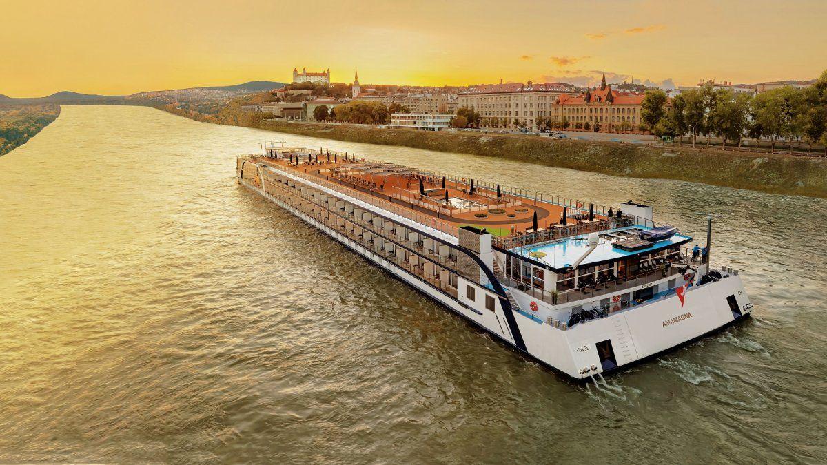 AmaWaterways anunció su primer crucero fluvial en Sudamérica