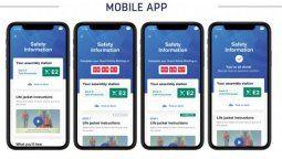 La nueva tecnologíade Royal Caribbean se usará para proveer información a los pasajeros a través de sus teléfonos móviles y de las televisiones interactivas de sus camarotes.