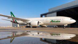 Boeing B-777 de Alitalia.