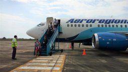 Aeroregional busca ampliar sus operaciones.