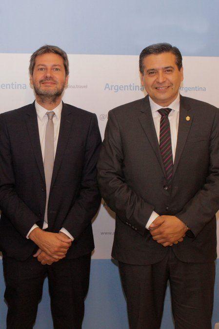 Con Matías Lammens y Ricardo Sosa