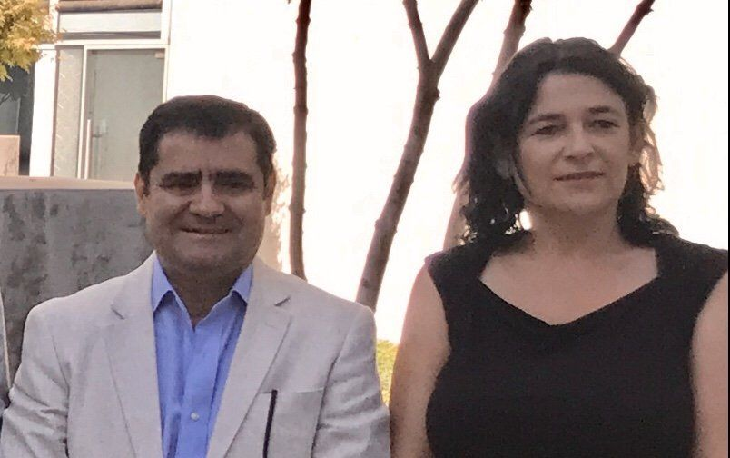 Máximo Picallo y Javiera Montes