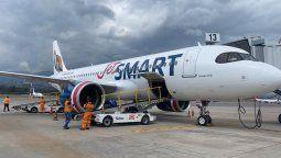 JetSmart espera poder realizar vuelos domésticos en Perú a partir de este año.
