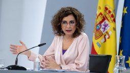 María Jesús Montero Cuadrado, ministra de Hacienda de España.