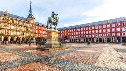 La Plaza Mayor es el corazón de Madrid.