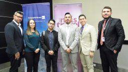 Directivos de Más Travel, junto a representantes de Copa Airlines, Firentur y RGE Sytle Travel.