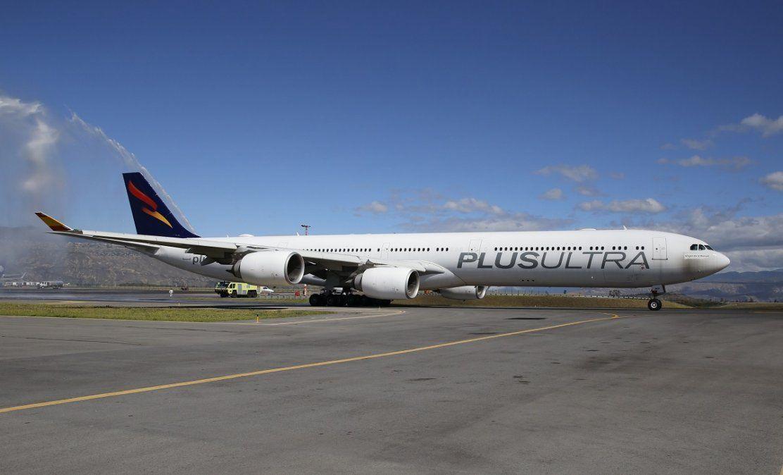 Plus Ultra extiende hasta nuevo aviso la suspensión de sus operaciones en Ecuador.