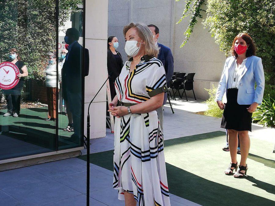 La ceremonia contó con la presencia de la primera dama de la Nación