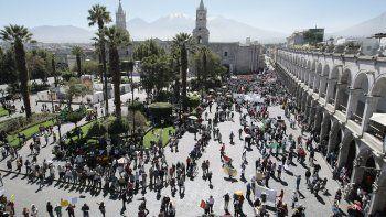 Arequipa: la reactivación turística será en tres fases